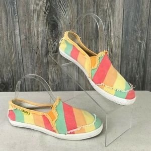 Keds Women's Size 7 Slip On Canvas Casual Shoes